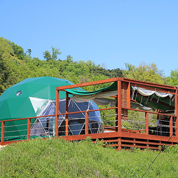 森のグリーンドーム